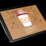 kawa procreate rysuje na tablecie
