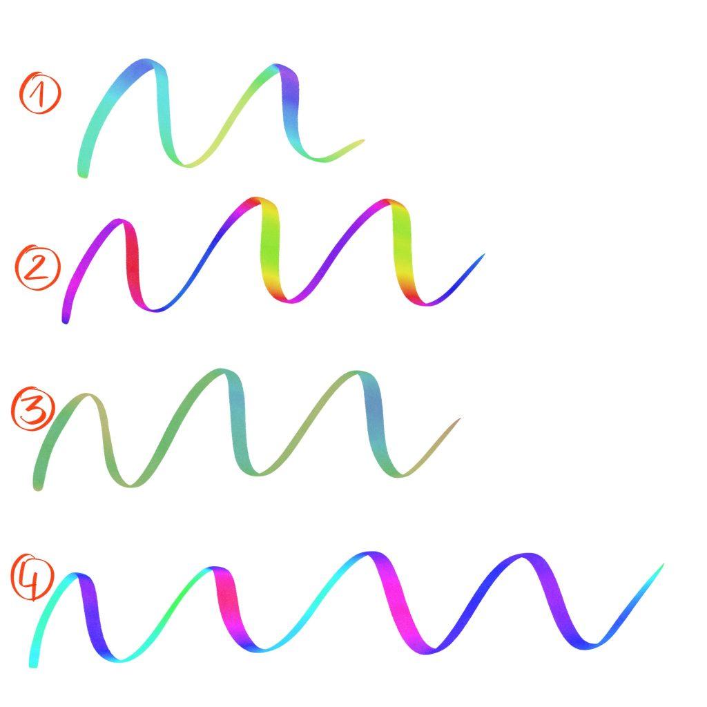 procreate kolorwy brush